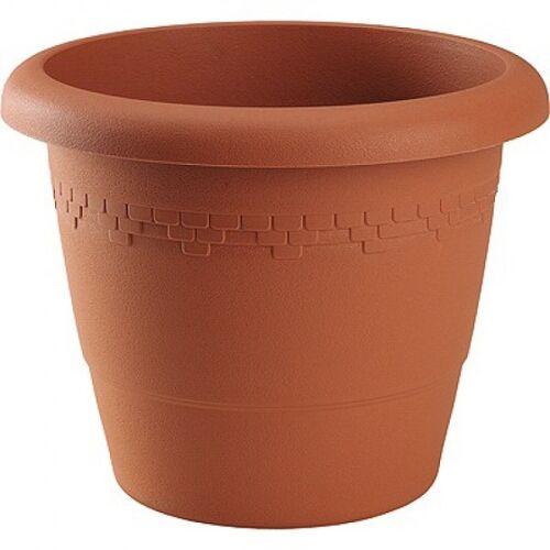 Hega blumentopf Lima 10 Liter 30 x 24 cm braun