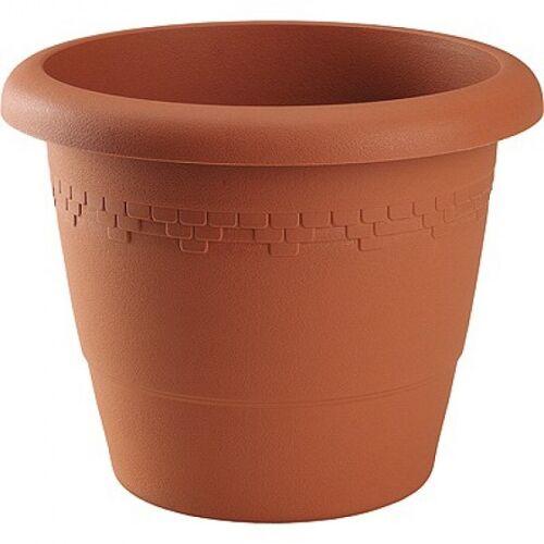 Hega blumentopf Lima 15,4 Liter 35 x 29 cm braun