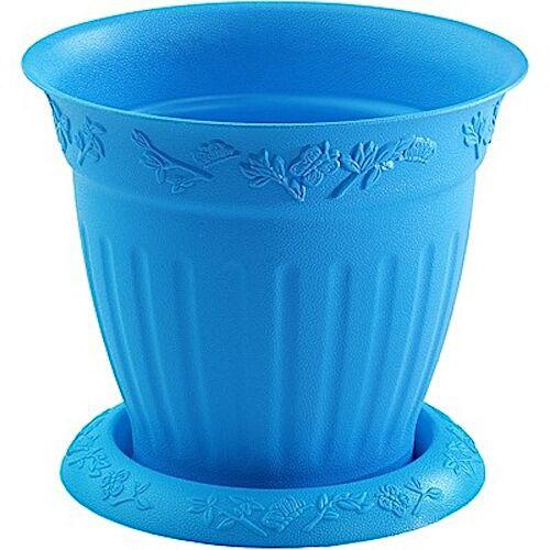 Hega blumentopf Marfil 1,5 Liter 16 cm blau