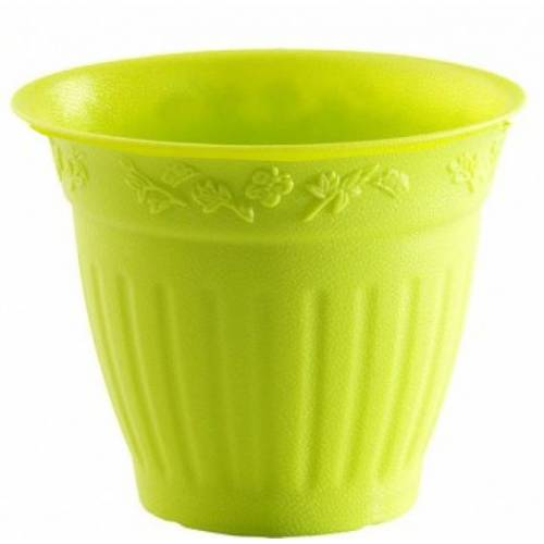 Hega blumentopf Marfil 1,5 Liter 16 x 14 cm grün