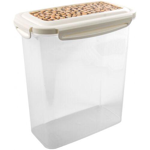 Hega suppentopf Alava 2 Liter 19 x 11 x 21 cm transparent/beige