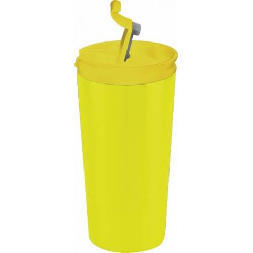 I-Drink I Drink doppelwandiger Becher 350 ml Edelstahl gelb