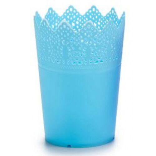 Ibergarden blumentopf 11,8 cm blau