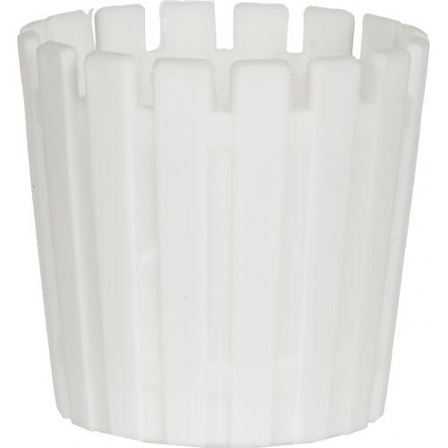Ibergarden blumentopf 8,5 x 9 cm weiß