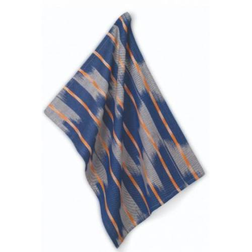 Kela geschirrtuch Ethno 70 x 50 cm Baumwolle blau/grau