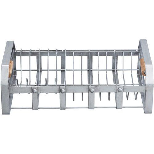 KitchenCraft geschirrständer Industrial Kitchen 40 x 25,5 cm Stahl