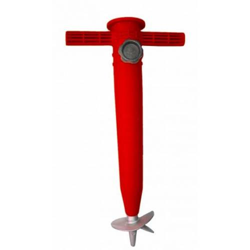 Pincho sonnenschirmhalterung 23 35 mm Aluminium 32 cm rot