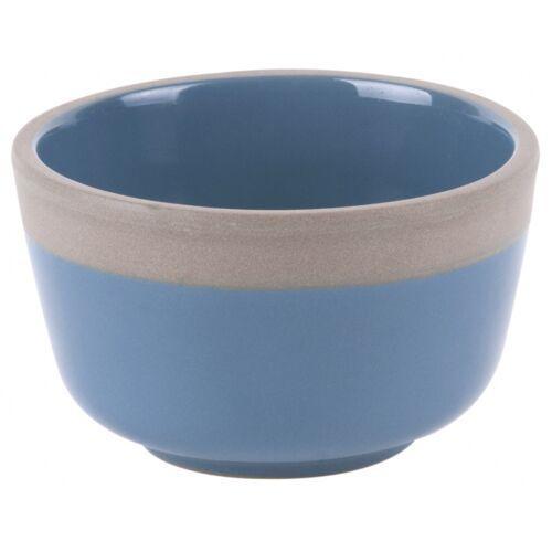 Present Time servierschale Zügig 5,5 x 9 cm Terrakotta blau/grau