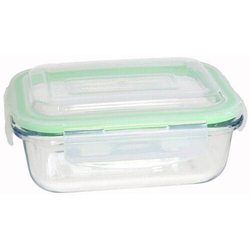 San Ignacio lebensmittelbehälter 15,5 x 11 x 6 cm 370 ml Glas grün
