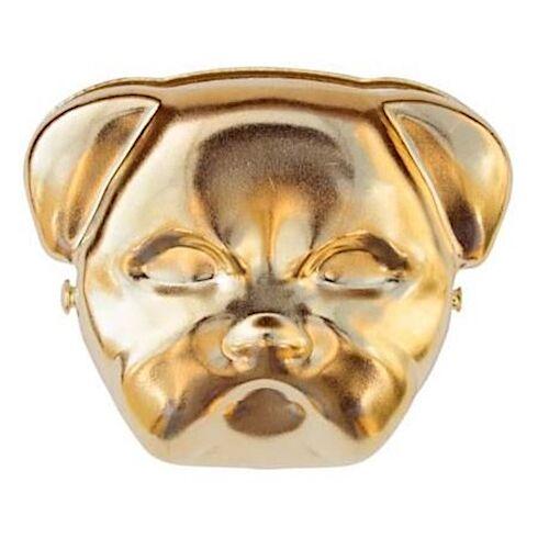 Suck UK clip Bulldogge 13,8 x 7,9 x 3,1 cm Stahl gold