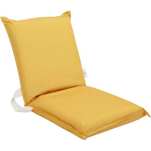 Sunnylife sitzkissen 110 x 70 cm Polyester gelb