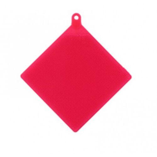 TOM geschirrtuch Gummi 15 x 15 cm rot
