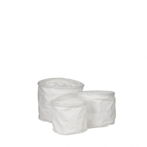 TOM blumentöpfe Flexi rund 18 cm Polyester weiß 3 teilig