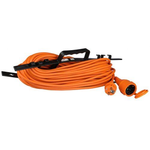 V-TAC V TAC verlängerungskabel VT 3002 30 16A 30 Meter IP44 PVC orange
