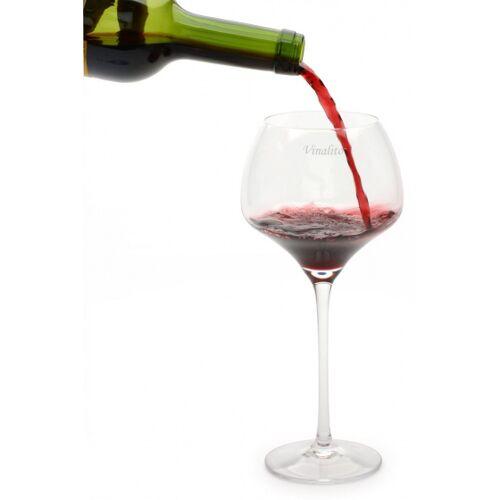 Vinalito weingläser 550 ml Kristallglas transparent 2 Stück