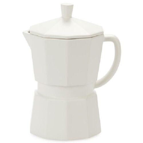Balvi kaffeekanne Moka 350 ml 14,5 x 12,3 cm Keramik weiß