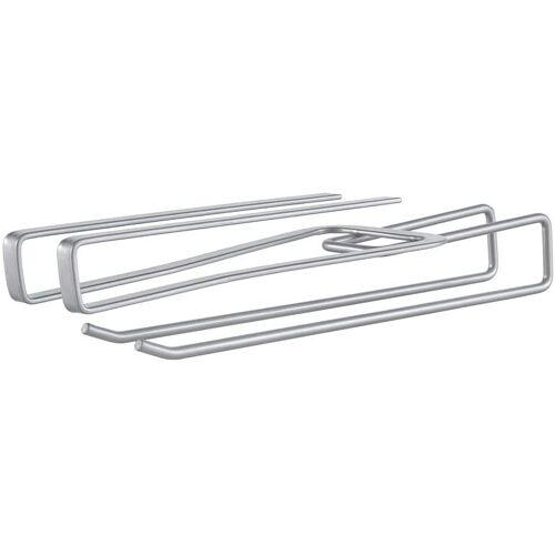 Metaltex aufbewahrungshaken multifunktional 28 x 8 cm Metall silber