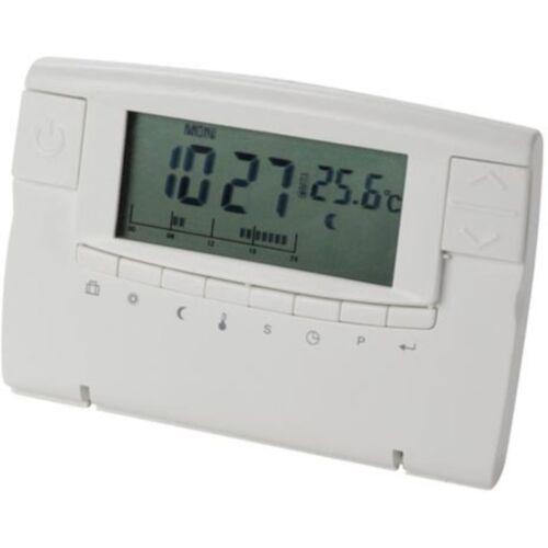 Perel digitaler Thermostat 125 x 90 mm weiß