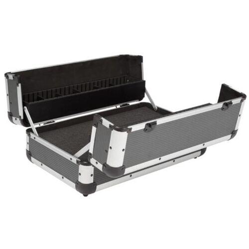 Perel werkzeugkoffer 45,5 x 26,5 cm Aluminium grau/silbern