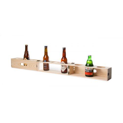 Rackpack bierkasten Bierzahnrad 103 x 9,5 x 9,5 cm Holz natur