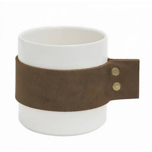 Tak Design becher Tak Wrap Me 400 ml 8,5 x 9 cm Keramik braun