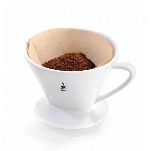 Gefu kaffeefilter Sandro 12 x 10 cm Porzellan weiß Größe 101