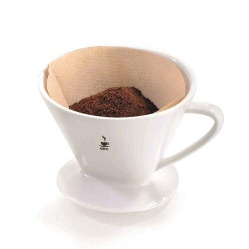 Gefu kaffeefilter Sandro 15 x 12,4 cm Porzellan weiß Größe 2