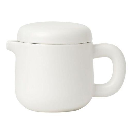 Viva teekanne Isabella 600 ml Porzellan weiß