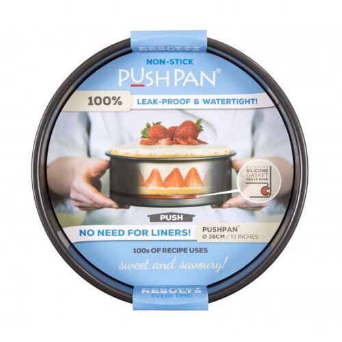 Wham backform PushPan 26 cm carbon silbergrau