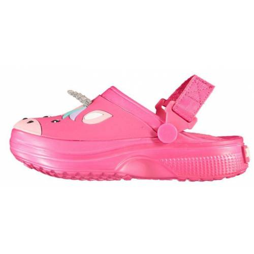 XQ Gardenwear garten Clogs Einhorn Gummi rosa
