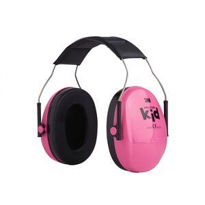 Peltor earhoof 3M junior Stahl/Schaumstoff rosa Einheitsgröße