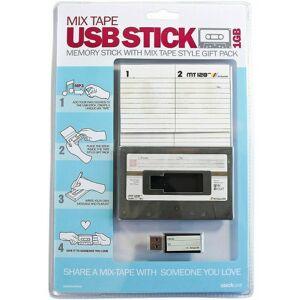 Suck UK USB Stick 1 GB 10 x 6,6 cm stahlgrau/schwarz