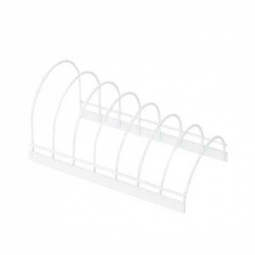 Compactor küchenständer 24 x 14 x 12 cm Stahl weiß
