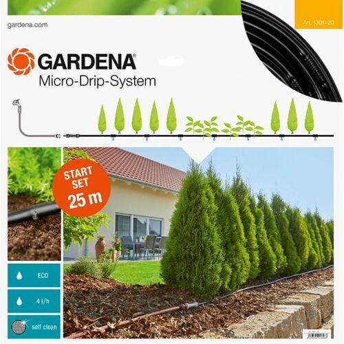 Gardena tropfbewässerungsset Start Set M 25 Meter PVC 4 teilig
