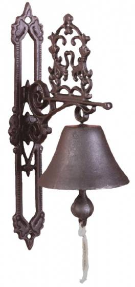 Esschert Design türklingel Classic Antiek 19,5 cm Gusseisen braun