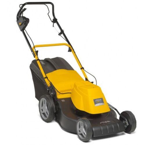 Stiga rasenmäher Combi 48 ES elektrisch 1800W Stahl gelb/schwarz