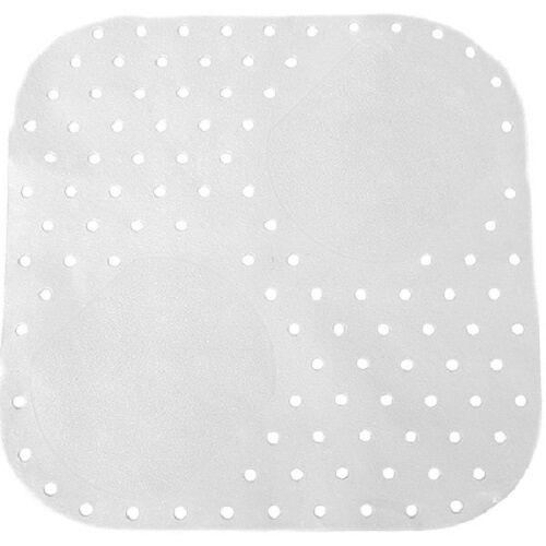 Zens duschmatte Pflege Anti Rutsch Pflege 54 x 54 cm weiß