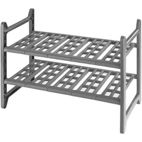 Wenko unterbauschrank Flexi 28 x 44 82 cm grau
