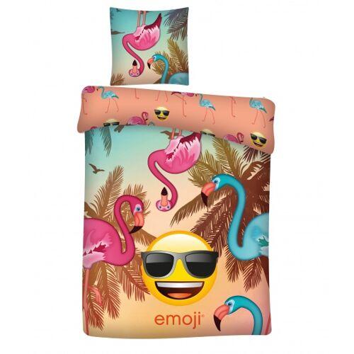 Emoji bettwäsche Flamingo 140 x 200 cm