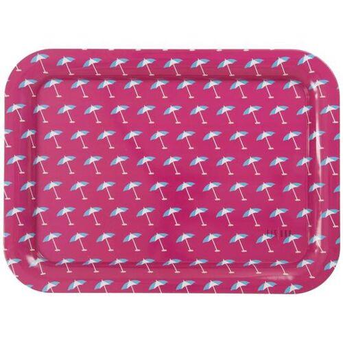 Fisura tablett Sonnenschirm 44 x 32 x 2 cm Stahl rosa