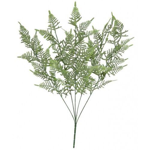 Gerimport künstlicher Blumenstrauß Farn 58 x 21 x 14 cm grün