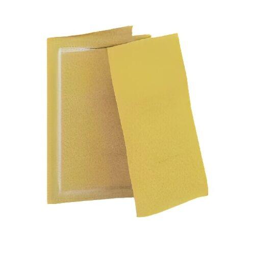 Max Benjamin duftkarte Zitronengras und Ingwer 12 cm Papier gelb