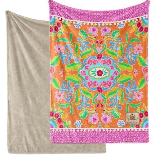 Happiness kariert Zabrina 150 x 200 Polyester rosa/taupe