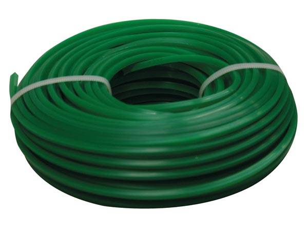 Toolland trimmerdraht 100 Meter x 3,2 mm Nylon grün