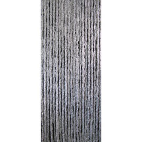 Sun-Arts Sun Arts katzenschwanzvorhang 220 x 90 cm Plüsch grau