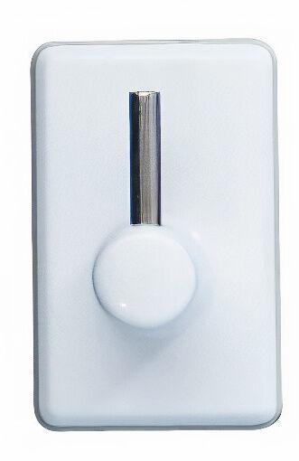 Wenko gardinenhaken 2 x 3 cm ABS weiß 4 Stück
