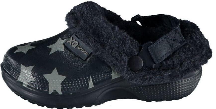XQ Footwear garten clogs junior gummi/imitation schwarz mt 25 26