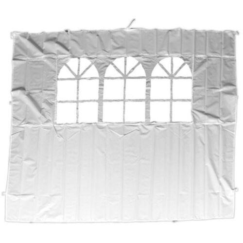 Perel windschutzscheibe mit Fenster 200 x 290 cm Polyester weiß