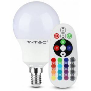 V-TAC V TAC lED Lampe VT 2234 RGB P45 E14 3,5W 4000K 320 lm IP20 weiß