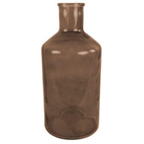 Countryfield vase Deny 24 x 52 cm Glas braun